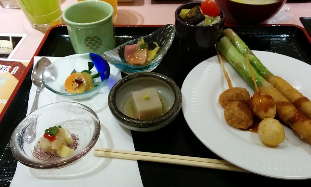 2015箱根リカーヴ夕食