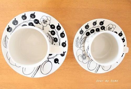 ブラパラティー&コーヒーカップ比較