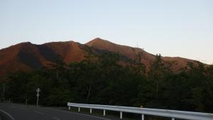 アポイ岳全景