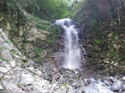 二段12m滝