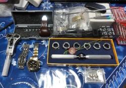 腕時計の電池交換20150825