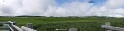 湿原テラスから雨竜沼湿原(パノラマ)