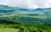 南暑寒岳偽頂から雨竜沼湿原遠望