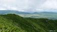 南暑寒岳から雨竜沼湿原遠望