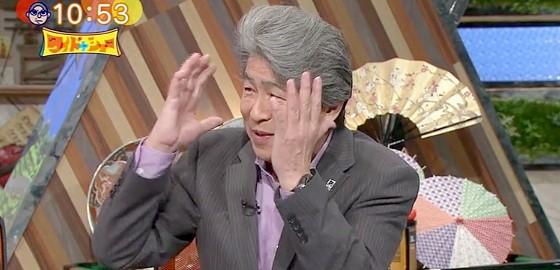 ワイドナショー画像 鳥越俊太郎 東京五輪のダサいユニフォーム ソウル五輪のエピソードを紹介 2015年7月5日