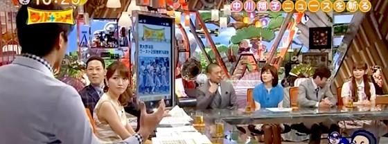 ワイドナショー画像 慶応野球部出身の田中大貴アナが東大の76連敗を解説 2014年6月1日
