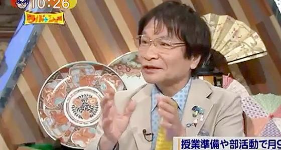 ワイドナショー画像 尾木ママ「教員が長時間労働なのは確かだが、それを保護者に訴えるのは筋違い」 2015年7月12日