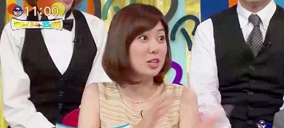 ワイドナショー画像 山崎夕貴アナ ジュラシック・ワールドが楽しみでジュラシック・パークシリーズを全作見直し 2015年7月12日
