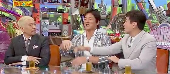 ワイドナショー画像 長嶋一茂 石原良純 2世タレントがオープニングで笑い飯のように賑やかだが長渕剛登場でおとなしく 2015年7月19日