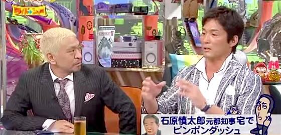 ワイドナショー画像 松本人志 長嶋一茂 長嶋茂雄宅に爆破予告というエピソードを語る一茂 2015年7月19日