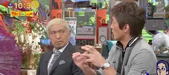 ワイドナショー画像 松本人志 長嶋一茂が受けたストーカー行為の内容に苦い顔 2015年8月2日