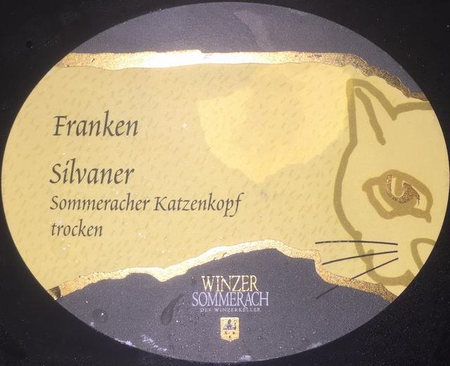 Franken Silvaner Sommeracher Katzenkopf trocken Winzer Sommerach
