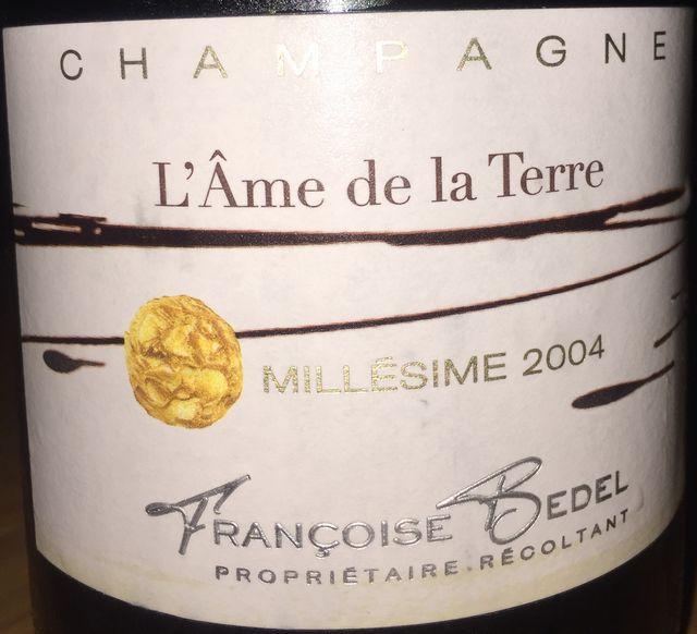 LAme de la Terre Millesime Francoise Bedel 2004