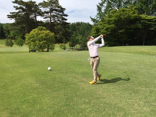ゴルフ3回 (2)