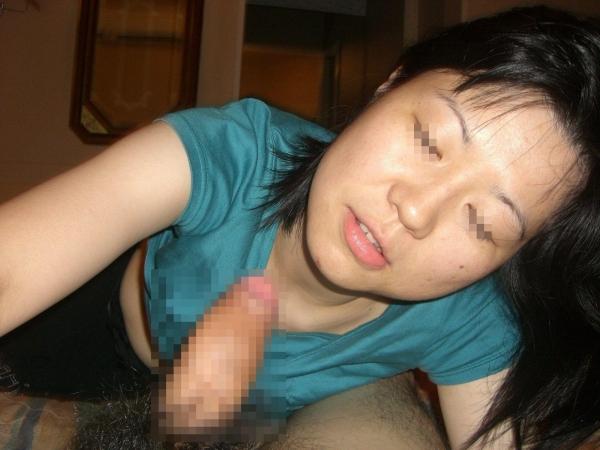 熟女フェラチオ画像 7