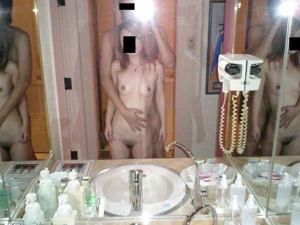鏡ハメ撮り画像 17