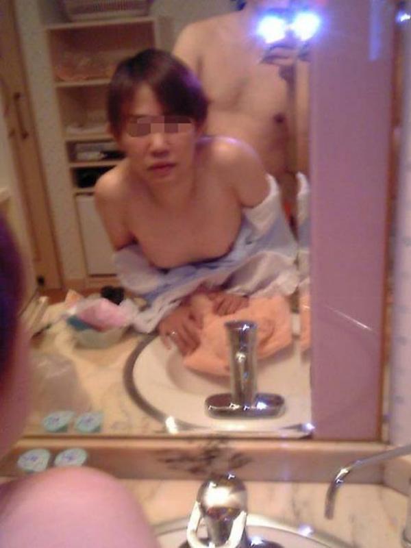 鏡ハメ撮り画像 31
