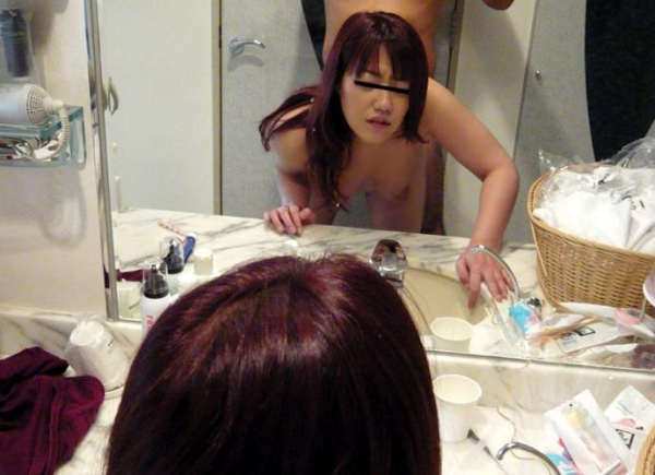 鏡ハメ撮り画像 39