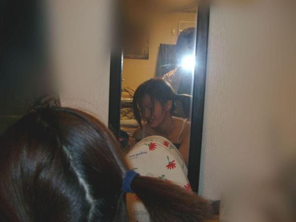 鏡ハメ撮り画像 50