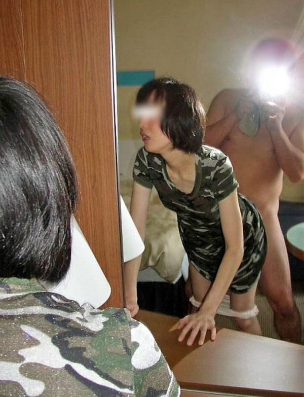 鏡ハメ撮り画像 55