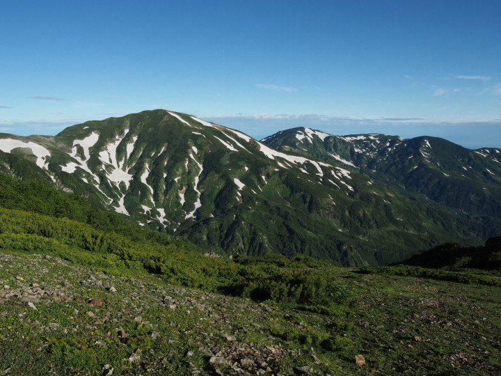 雪倉岳(2611m)-OMD08936