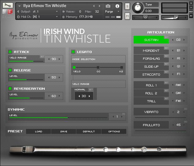 Irish Tinwhistle