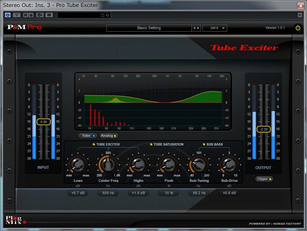 Tube Exciter