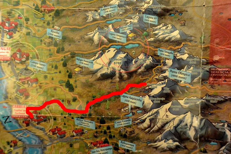 ワスカラン地図5