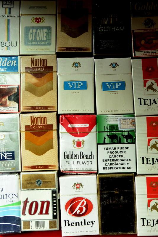 ラパス、たばこ