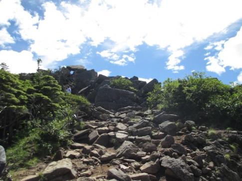北アルプス(北横岳~天狗岳) 084