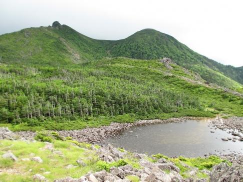 北アルプス(北横岳~天狗岳) 115-001
