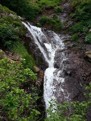 斜里岳見晴の滝