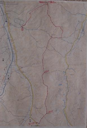 鶏足山マップ