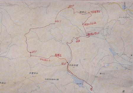 古賀志山マップ