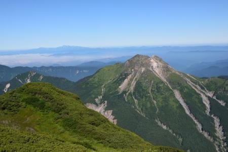 70霞沢岳