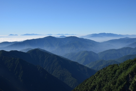 72霞沢岳