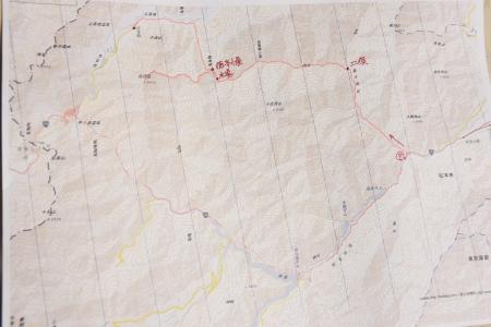 霞沢岳マップ1