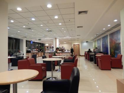バンコク2015.4スワンナプーム国際空港・エールフランスラウンジ