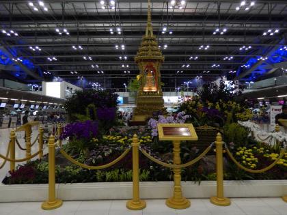 バンコク2015.4スワンプーム空港
