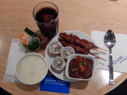 SFO+HNL2015.7成田空港・デルタ航空ラウンジ