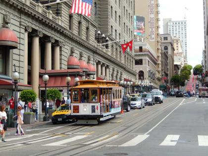 サンフランシスコ2015.7ケーブルカー