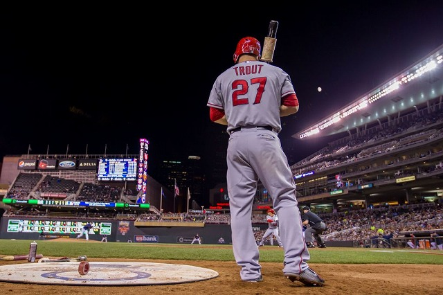 Mike Trout 20150708