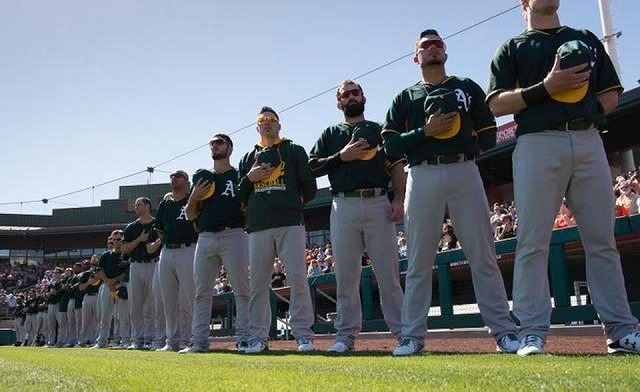 Oakland Athletics 20150709