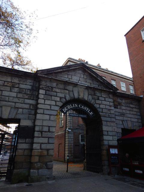 ヨーロッパ遊学記  -        ダブリン城、クライストチャーチ大聖堂