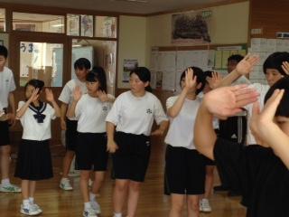 盆踊り練習2