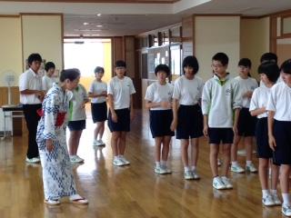 盆踊り練習会1