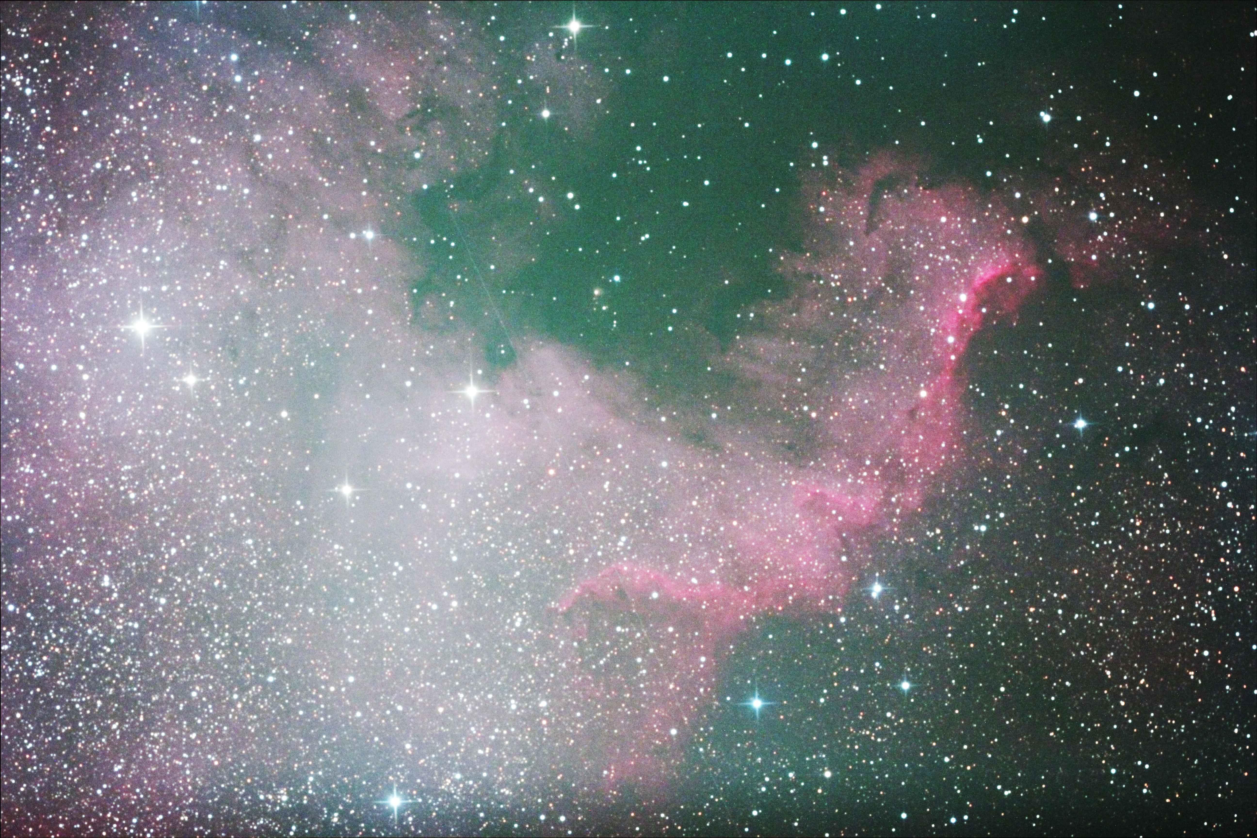 北アメリカ星雲(JPEG→FTS変換)
