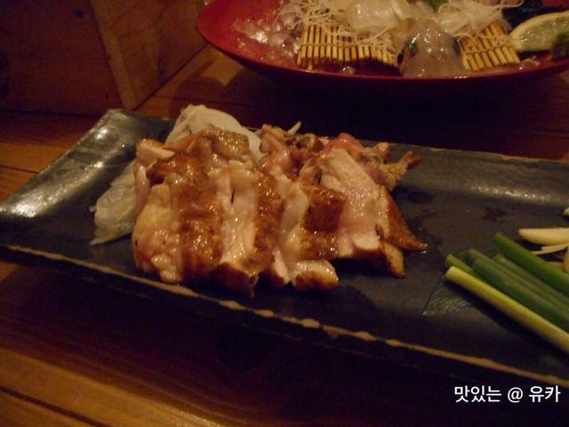 地鶏の藁焼