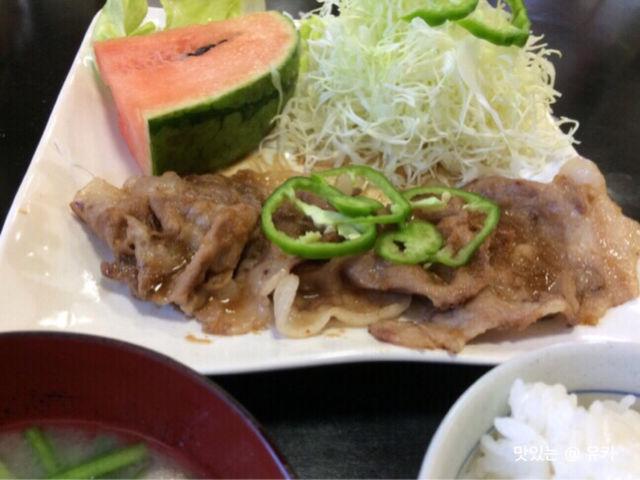 黒豚生姜焼き