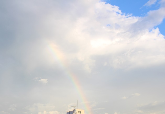 虹と記念日